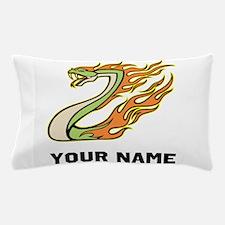Fire Snake Pillow Case