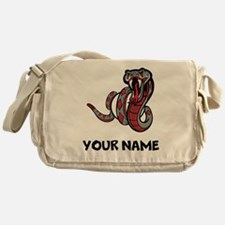 Diamondback Rattle Snake Messenger Bag