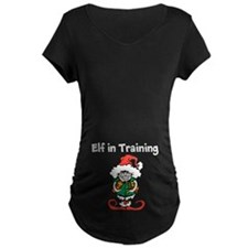 Elf In Training Maternity T-Shirt