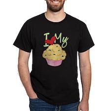 Cute Heart muffins T-Shirt