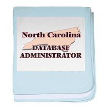 North Carolina Database Administrator baby blanket