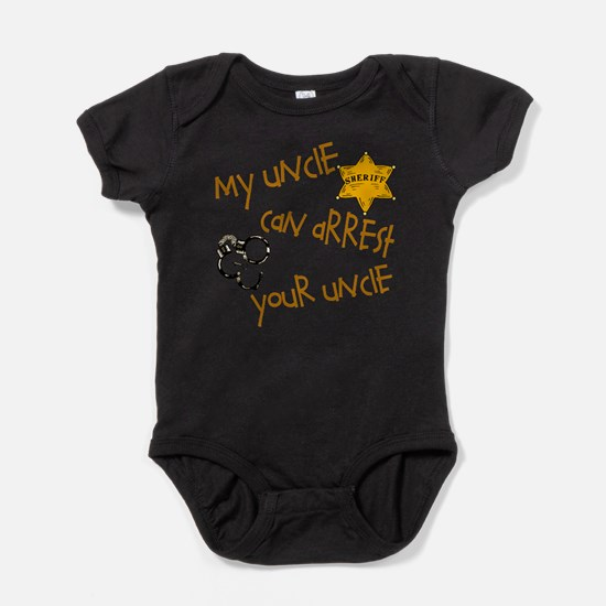 Cute Sheriff Baby Bodysuit