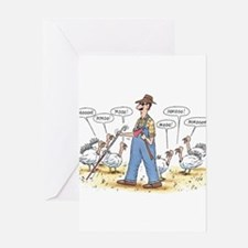 Cute Pilgrim Greeting Card