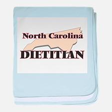 North Carolina Dietitian baby blanket