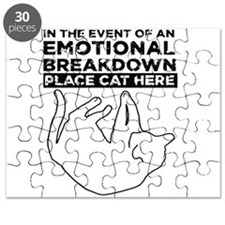 Emotional breakdown place Cat here Puzzle