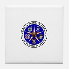 US FEDERAL AGENCY - CIA - CENTRAL SEC Tile Coaster