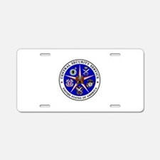 US FEDERAL AGENCY - CIA - C Aluminum License Plate