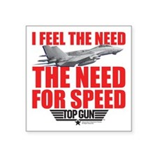 """Top Gun - Need for Speed Square Sticker 3"""" x 3"""""""