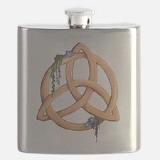 Celtic Triskele Knot Flask