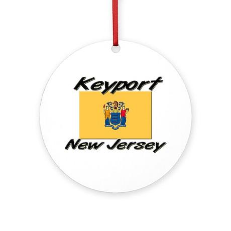 Keyport New Jersey Ornament (Round)