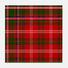 MacDougall Scottish Tartan Tile Coaster