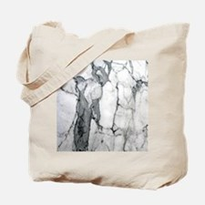abstract chic white marble Tote Bag