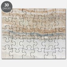 abstract chic white marble Puzzle