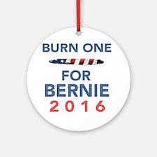 Burn 4 Bern Round Ornament