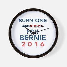 Burn 4 Bern Wall Clock