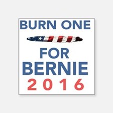 "Burn 4 Bern Square Sticker 3"" x 3"""