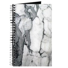 abstract chic white marble Journal