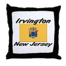 Irvington New Jersey Throw Pillow
