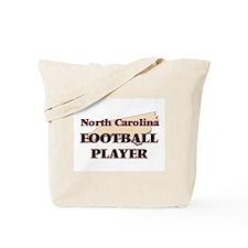 North Carolina Football Player Tote Bag