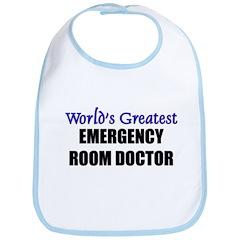 Worlds Greatest EMERGENCY ROOM DOCTOR Bib