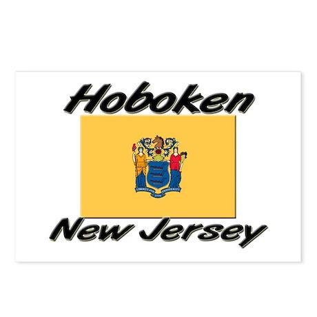Hoboken New Jersey Postcards (Package of 8)