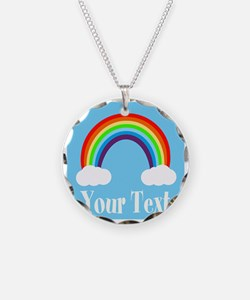 Personalizable Rainbow Necklace