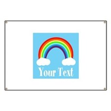 Personalizable Rainbow Banner