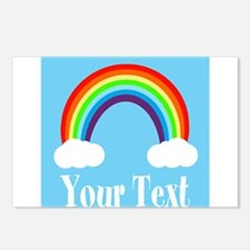 Personalizable Rainbow Postcards (Package of 8)