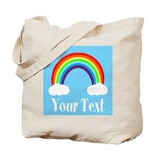 Personalizable Rainbow Tote Bag