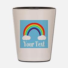 Personalizable Rainbow Shot Glass