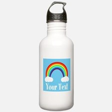 Personalizable Rainbow Water Bottle