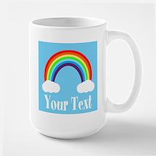 Personalizable Rainbow Mugs