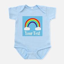 Personalizable Rainbow Body Suit