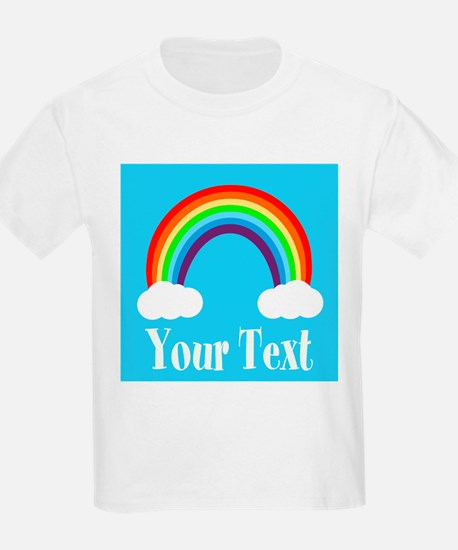 Personalizable Rainbow T-Shirt