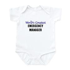 Worlds Greatest EMBRYOLOGIST Infant Bodysuit