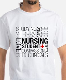 Nursing Student Box Shirt