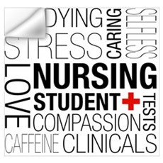 Nursing Student Box Wall Decal