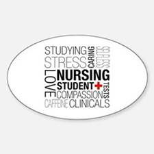 Nursing Student Box Decal