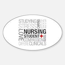 Nursing Student Box Stickers
