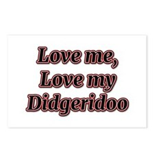 Love Me, Love My Didgeridoo Postcards (Package of