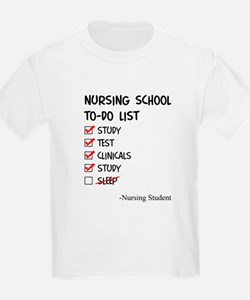 Nursing Student To-Do T-Shirt
