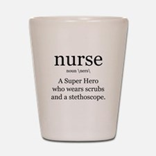 nurse definition two Shot Glass