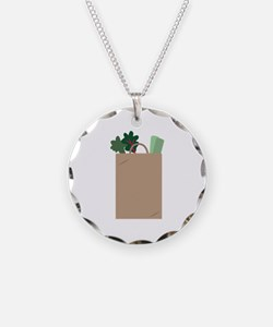 Grocery Bag Necklace