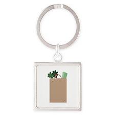 Grocery Bag Keychains