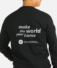 Make The World Your Home Long Sleeve T-Shirt