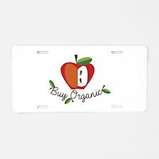 Buy Organic Aluminum License Plate