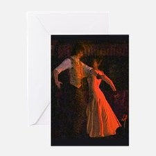 """Flamenco-1-"" Greeting Card"