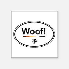"Cute Gay bear Square Sticker 3"" x 3"""