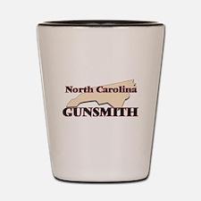 North Carolina Gunsmith Shot Glass