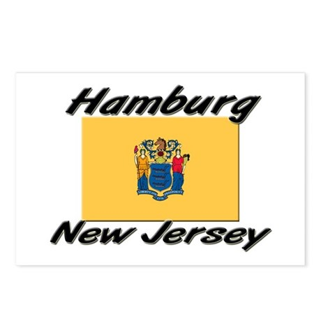 Hamburg New Jersey Postcards (Package of 8)